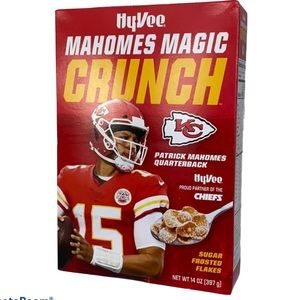 Patrick Mahomes Chiefs Collectible  Cereal Box NEW